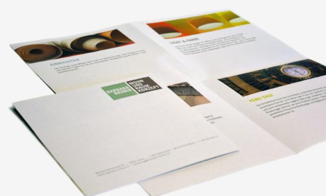 Flyer / Barbara Briner / Wohn- und Raumkonzept