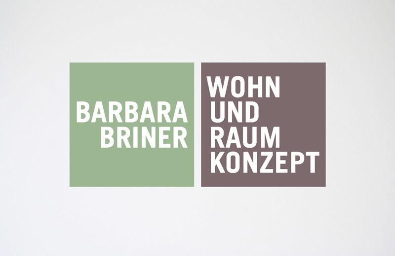 Logodesign / Barbara Briner / Wohn- und Raumkonzept