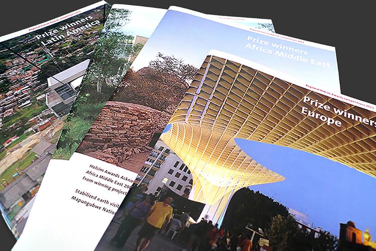"Informationsbroschüre ""HolcimAwards"" / Holcim Foundation"