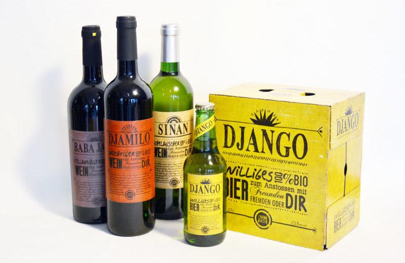 Bier & Wein Etikette / L'Ultimo Bacio
