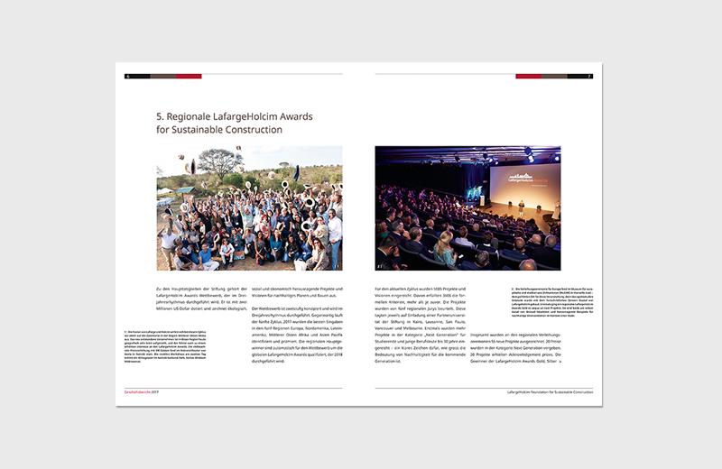 Geschäftsbericht 2017 / LafargeHolcim Foundation