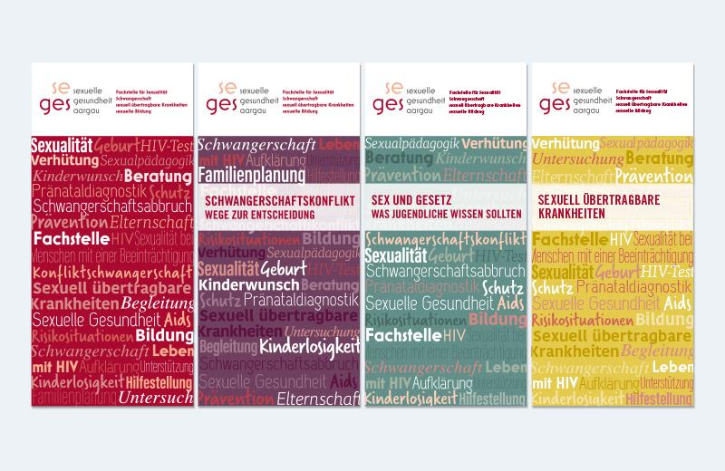 Angebotsbroschüren / SEGES / Sexuelle Gesundheit Aargau