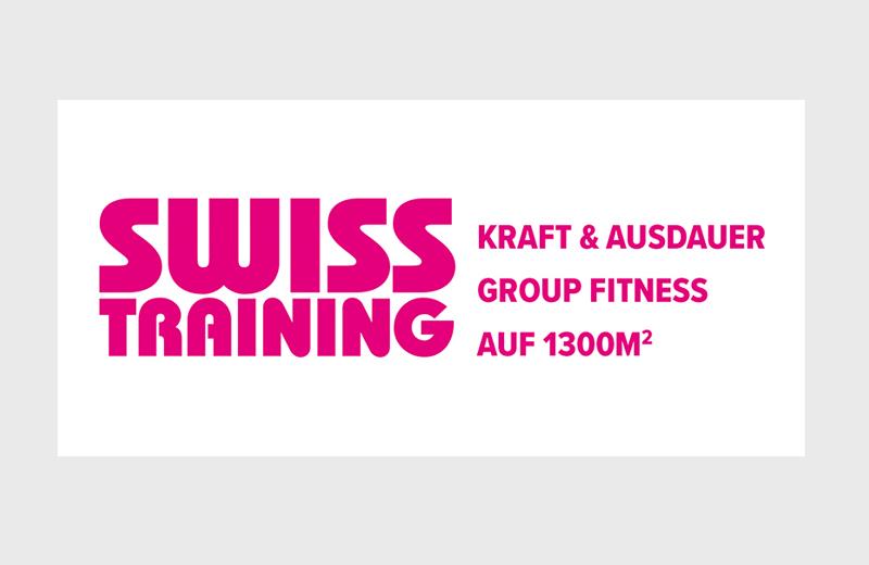 Signaletik Outdoor / Swiss Training Aarau